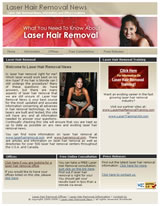Laser Hair Removal News